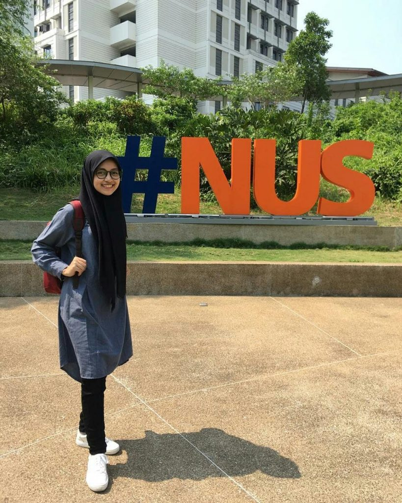 Research Program Scholarship in National University of Singapore (NUS) for student of Department of English Literature
